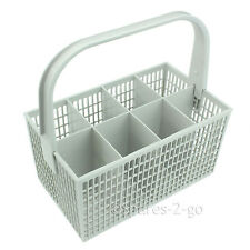8 Compartment White Cutlery Basket Cage for Siemens Dishwasher 237 x 137mm