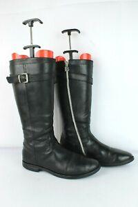 Bottes Balducci cuir noir T 37 / UK 4 TRES BON ETAT