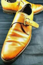 Cole Haan Williams British Tan Monk Strap Loafer Men's 8.5 M #5713141