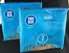 True Blue 12 x 12 x 1 Air Filters Basic Protection Pleated 2-Pack Sealed - Flaw