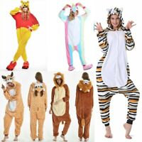 BEST Unisex Adult Sleepwear Animal Pajamas Kigurumi Cosplay Costume Fancy Dress