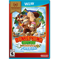 Donkey Kong Country Tropical Freeze - Nintendo Selects (Wii U, 2016) New