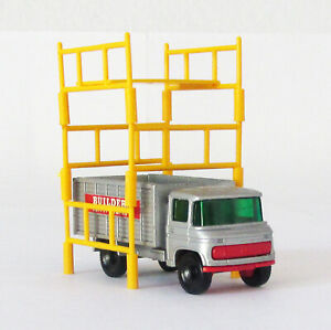 Vintage Lesney Matchbox #11 Scaffolding Truck Regular Wheel NEAR MINT 1969