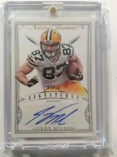 2015 National Treasures Jordy Nelson Signatures Auto SSP 3/10 Packers