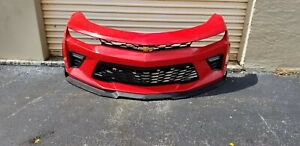 2016 2017 2018 Chevy Camaro SS Front Bumper Assembly OEM Orange