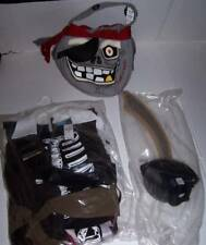 Children's Place TCP Pirate Costume with Accessories Boys 5-6 Halloween NWT