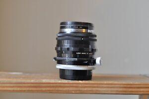 Nikon Nikkor PC 35mm F3.5 Non a I lens for Nikon F