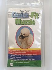 Four Paws Quick Fit MUZZLE  Training SMALL dog Puppy pet Size 1 Brand New!