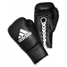 Adidas Lace Up Pro Sparring Gloves ABA EB WBC Approved Black