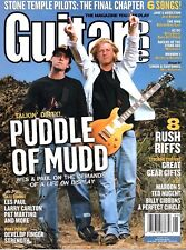 Guitar One Magazine January 2004 - Puddle of Mudd, Stone Temple Pilots, Rush