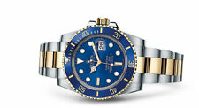 Rolex Submariner Date Two-Tone Steel & Gold 40mm Blue Dial Ceramic Bezel 116613