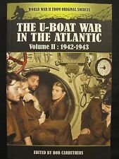 Book: The U-Boat War in the Atlantic Volume II - 1942-1943 - 256 pages
