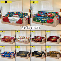 1/2/3 Christmas Seater Stretch Chair Sofa Covers Couch Cover Slipcover Protector
