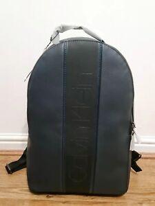 CALVIN KLEIN Navy Strike Round Backpack