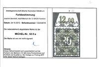 Alliierte Besetzung Bizone 63 II a P OR postfrisch einwandfrei Farbprüfung -TOP