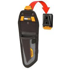 TOUGHBUILT Compartment Lineman Knife Pouch Black ClipTech Tool Belt Pocket Bag