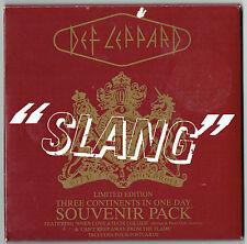 """DEF LEPPARD - 5""""-CD - Slang (3 Track) Souvenir Pack + Cards"""