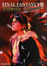 FINAL FANTASY GAME GUIDE BOOK Japanese ULTIMANIA FF8