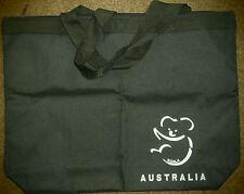 Tote Bag- Black. Australian Souvenir (Koala)