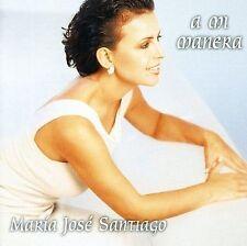 MARIA JOSE SANTIAGO - A MI MANERA * NEW CD