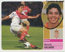 MARCELO GALLARDO # ARGENTINA AS.MONACO DC.UNITED STICKER  PANINI FOOT 2003