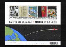 Belgium 2004 Tintin and the Moon Souvenir Sheet (75th Anniv of Tintin) - MNH**