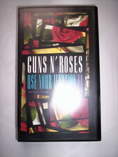 K7 VIDEO VHS GUNS N'ROSES USE YOUR ILLUSION II / WORLD TOUR 1992 IN TOKYO