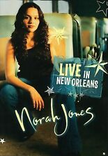 Norah Jones - Live in New Orleans (DVD, 2003) EXCELLENT! Ships super fast!