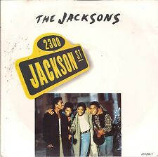 """The Jacksons 2300 Jackson Street UK 45 7"""" sgl +Pic Slv +When I Look At You"""