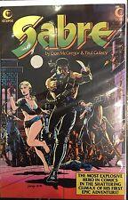 Sabre #2 VF+ 1st Print Free UK P&P Eclipse Comics