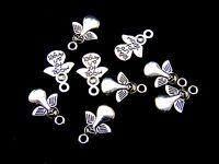 20 Pcs -  18mm Tibetan Silver Angel Charms Craft Beading Pendant Guide J109