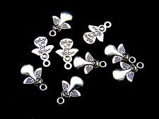 20 Pcs -  18mm Tibetan Silver Angel Charms Craft Beading Pendant Guide J109
