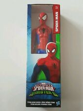 MARVEL ULTIMATE SPIDER-MAN FIGURINE DE 30 CM SPIDER-MAN SÉRIE TITAN HERO  NEUF