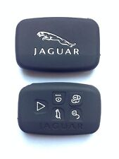 Jaguar 2015/16 Key Fob Case Cover Noir Pour Modèles Xf, XK, XFR, F-TYPE, SE, EX