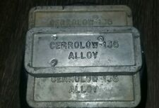 Over 4 Pounds -CERROLOW 136°F METAL - Indium,Bismuth,Tin, Lead - NO CADMIUM -Bar