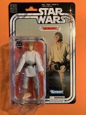 "Star Wars Luke Skywalker - 40th Anniversary Black Series #25 - 6"" MOC"