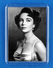 Elizabeth Taylor - Classic Film Star Fridge Magnet - (7cm x 4.5cm) - Gift Idea