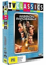 Mission Impossible : Season 1 (DVD, 2009, 7-Disc Set) R4 BOXSET NEW AND SEALED