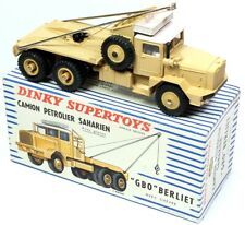 Dinky Toys 888 Supertoys - BERLIET GBO PETROLIER SAHARIEN 1:43, Atlas
