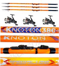 kit 3 canne tremarella knoton 1/4g + 3/8g + 7/15g + 3 mulinelli pesca trota lago