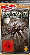 Playstation sony psp resistance: retribution NEUF