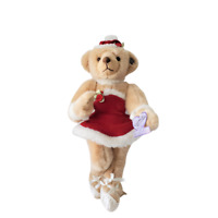 "Annette Funicello Let It Snow Ballerina Bear 15"" Scrapbook Bears Collection"