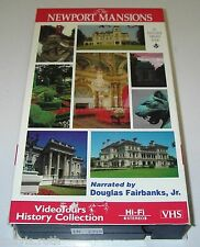 VHS Video Tour Newport Mansions Marble Hunter House Breakers Elms Rosecliff RI