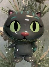 Custom CHESSUR CAT Christmas Ornament Through Looking Glass Alice Wonderland