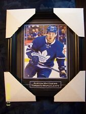 "Black Onyx ""Toronto Maple Leafs"" Auston Matthews (8 x 10) Framed Photograph!"
