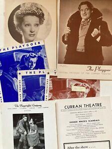 1939-1940 Playgoer Official Programs playbills Curran Theatre San Francisco (6)