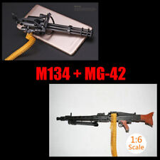 "1:6 1/6 Scale Assemble Gun Weapon M134+MG-42 Fit 12"" Action Figures CSGO"
