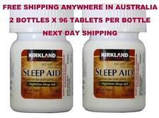 192 Tablets Kirkland Sleep Aid Sleepaid Doxylamine Succinate 25mg sleep aid