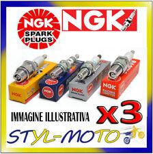 KIT 3 CANDELE NGK SPARK PLUG ZFR5F-11 OPEL Agila 12V 1.0 44 kW Z10XEP 2004