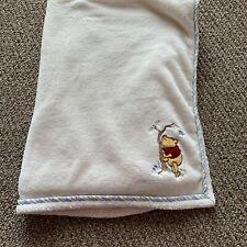 New listing Vintage Disney Pooh Fleece White Embroidery